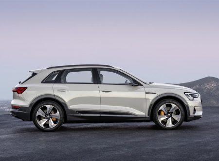 Audi e-tron: ecco il SUV completamente elettrico da 408 cavalli [FOTO]