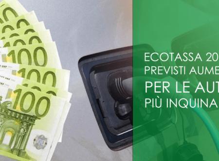 Ecotassa 2019: previsti aumenti per le auto più inquinanti