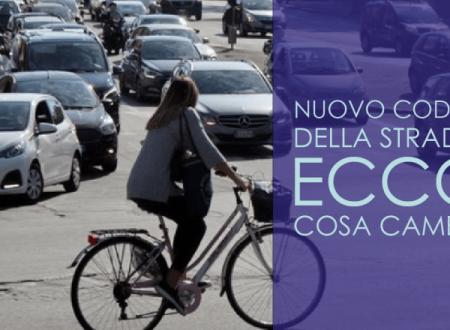 Nuovo Codice della strada: ecco cosa cambia