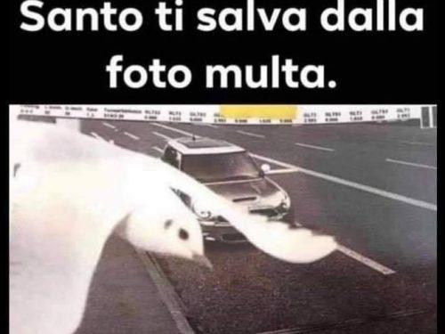 QUANDO LO SPIRITO SANTO TI SALVA DALLA FOTO MULTA