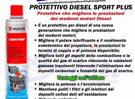 Protettivo diesel sport plus 🚗💨