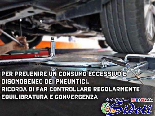 Consumo eccessivo degli pneumatici??